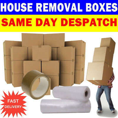 MOVING BOXES 20 LARGE Double Wall Cardboard Box NEW ✔ Removal Packing Shipping ✔