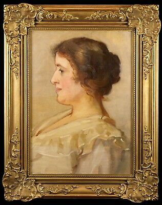 Circle of John Singer Sargent (1856-1925) Portrait of a Lady | Oil Painting