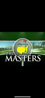 2019 Masters Golf Tournament - Four (4) Tickets - Tues April 9th Practice Round