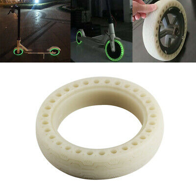 New Rubber Tires Fluorescent Hollow Solid for Xiaomi Mijia M365 Electric Scooter