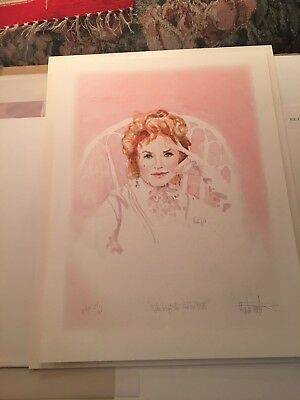 Gunsmoke Kitty  (Amanda Blake) Limited Edition Print , Artist Buck Taylor