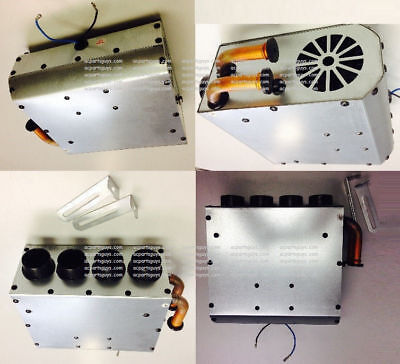 12V Volt Universal Add On Heater Assembly Underseat Sidewall Type