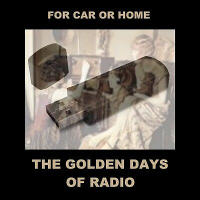 The Golden Days Of Radio. A 'Must Have' For Otr Fans. Enjoy In Your Car Or Home!