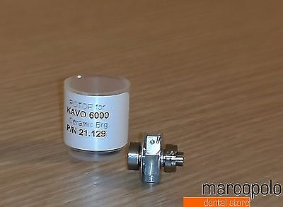 Rotore x turbina Kavo 6000 ceramic bearings dental rotor highspeed handpiece