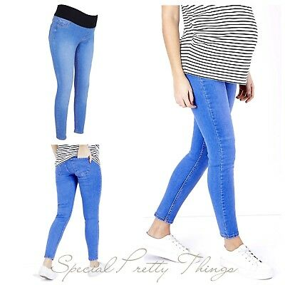 b71f359ac9d MATERNITY NEW LOOK Under Bump Jeggings Jeans Sizes 8 - 20 Leg 24 ...