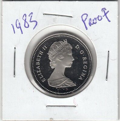 1983 Canada 50 cents Proof half dollar from Mint Set UHCameo GEM