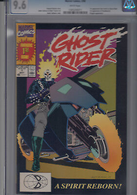 GHOST RIDER #1 (May90) CGC 9.6  *1st DAN KETCH as GHOST RIDER * 1st DEATHWATCH *