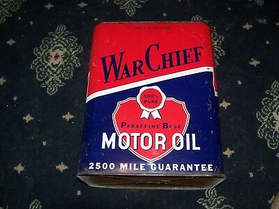 War Chief 2 Gallon Oil Can Pretty Nice