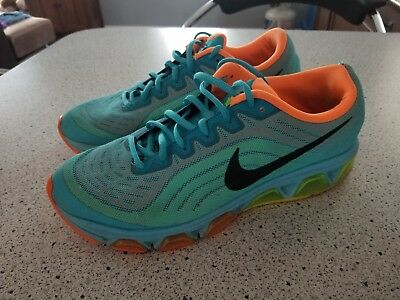 premium selection 03343 4d620 Nike AirMax Mens shoes 9.5 Air Max Tailwind 6 Gamma Blue, Volt, Atomic  Orange