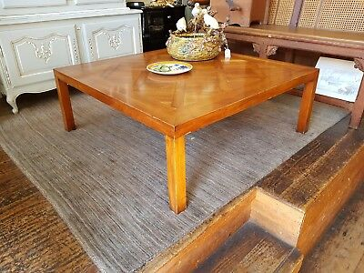 Large Parquetry French Style Coffee Table