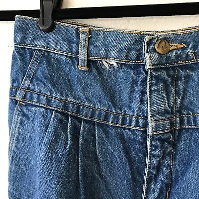 Vintage Rio by Stephen Mardon High Rise Tapered Leg Baggy Fit Denim Jeans 26x28
