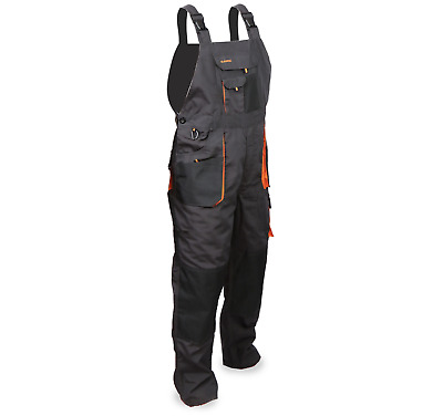 Bib and Brace Overalls, Multipockets,Triple Stitched Seams, Knee Pad TOP Quality