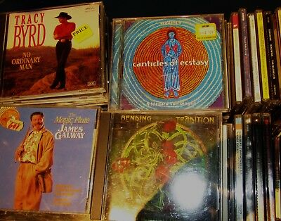***L@@K HUGE LOT OF MUSIC CDs - HUNDREDS ALL LISTED BELOW - HARD TO FIND COPIES*