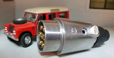 Land Rover Series 2 2a 3 Alloy Classic Type 7 Pin Plug Tow Towing Trailer