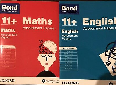 Bond 11+ Aged 12-13 Maths & English Assessment Papers