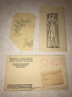 Vintage Sewing Pattern Anne Adams Instructor with original mailing envelope