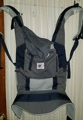 7c45c36dfff ERGOBABY ERGO PERFORMANCE Baby Carrier Charcoal Black 3 Position ...