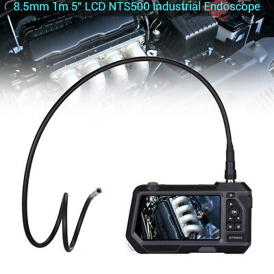 """Teslong NTS500 φ8.5mm 2MP 5"""" LCD Industrial Endoscope Snake Camera w/ 1M Probe"""