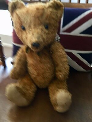 Vintage Collectable Straw Filled Teddy Bear