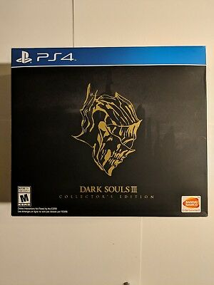 NEW Dark Souls III 3: Collector's Edition PS4 (Sony PlayStation 4, 2016)