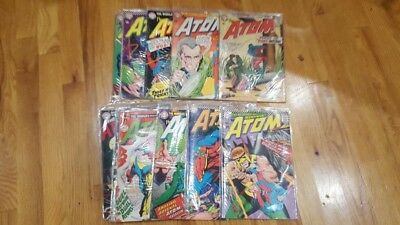 Lot Of 11 Silver Age Dc Comics The Atom 14, 16, 23, 26, 27, 31 32 33 36 42 43