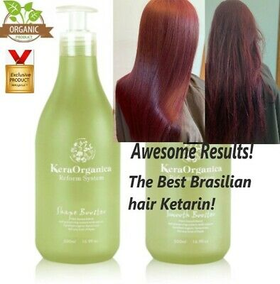 BRAZILIAN ORGANIC HYDROLYSED KERATIN FOR HAIR | Mother's Day Offer!