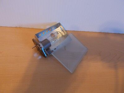 Ronco Compact Showtime Rotisserie 2500/3000 Bulb Assmbly + Glass Cover Part