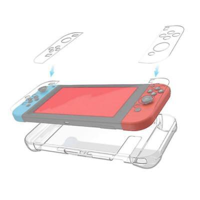For Nintendo Switch Transparent Clear Shockproof Protective Hard Case Cover US