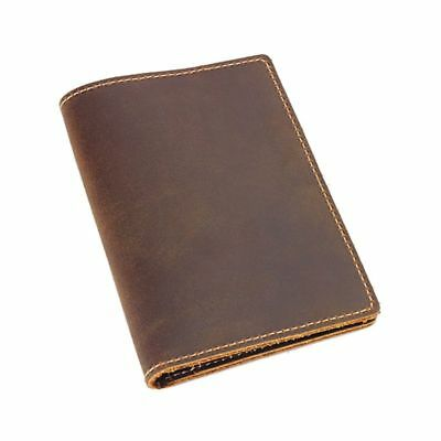 Vintage Travel Leather Passport ID Card Cover Holder Case Protector Organizer