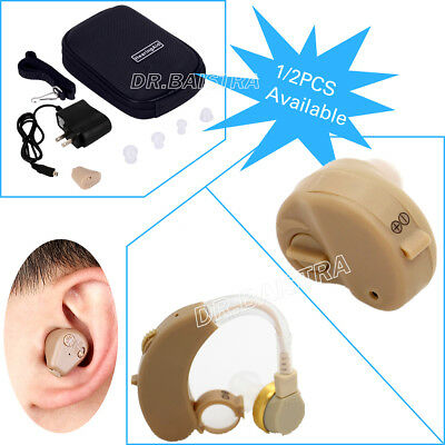 AU Rechargeable ITE/BTE Hearing Aid Deaf Hearing Assistance Deaf Ear Care Tools
