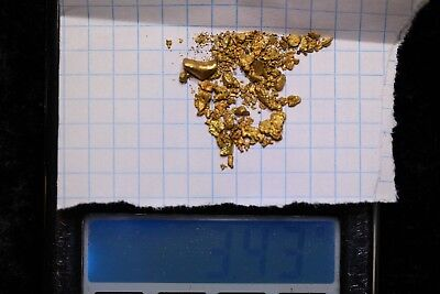 Australia Natural Gold Nugget - Nuggets Weight 3.42