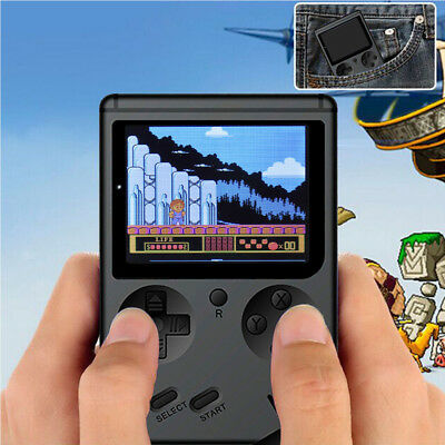 "3.0"" Mini Retro Pocket Game Console Handheld Game Player Video 400 Game Gifts"