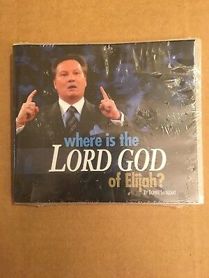 JIMMY SWAGGART - DVD - Can God Condemn A Man to Hell, Burn Him There