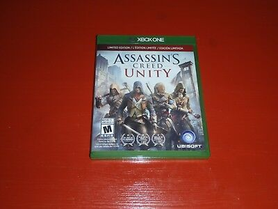 Assassin's Creed: Unity -- Limited Edition (Microsoft Xbox One, 2014) -No Manual