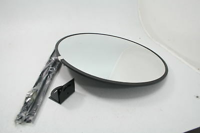 See All PLXO26SSB Circular Acrylic Outdoor Convex Security Mirror Stainless