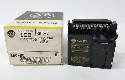 NEW IN BOX ~ Allen-Bradley 150-ND SMC-2 SER.A Interface Module ~ 150ND