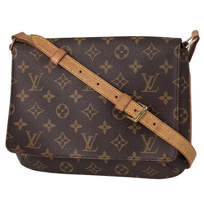 LOUIS VUITTON Musette Tango shoulder bag monogram Ladies