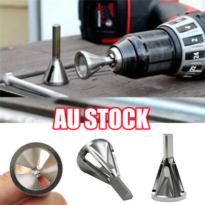 Deburring External Chamfer Bit Stainless Steel Remove Burr Tools Drill Tool UE
