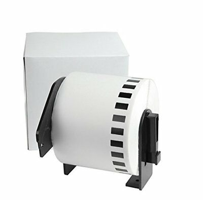 Compatible Brother DK-2205 White 2.4'' x 100ft  Continuous Address Paper Labels