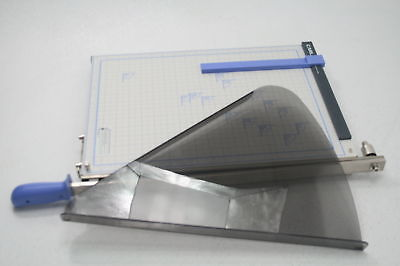 CARL Guillotine Paper Trimmer 18-Inch Metal Base Board Steel Cutting Blade