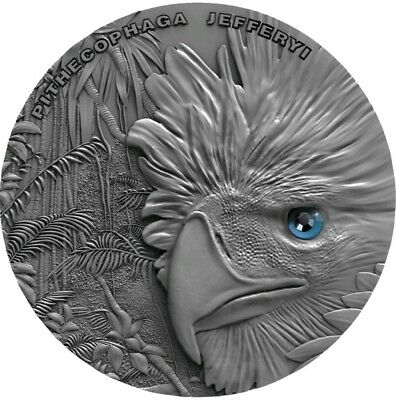 2018 1 Oz Silver Niue $2 PHILIPPINES EAGLE Sky Hunters Coin.