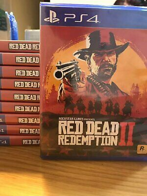 In-stock Now Red Dead Redemption 2  Playstation 4 PS4 (Eng/Chinese ver.)