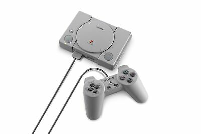 Sony Playstation Classic Mini + 2 Controllers includes 20 Games (Japan Ver.)