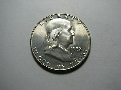 1952 Franklin Silver Half Dollar <> Brilliant Uncirculated