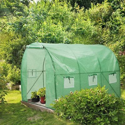 Walk In Greenhouse Heavy Duty Outdoors Winter Gardening Growing Green Hot House