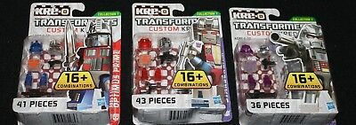 STARSCREAM Transformers KRE-O Set MISB new kreo kreon G1 CUSTOM series 1 lego