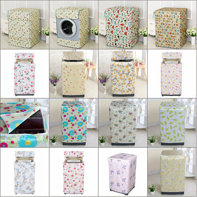 Waterproof Washing Machine Zippered Top Dust Cover Protection Top /Front Cover