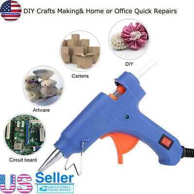 Professional Mini Electric Heating Hot Melt Glue Gun 20W+10 pcs Free Glue Sticks