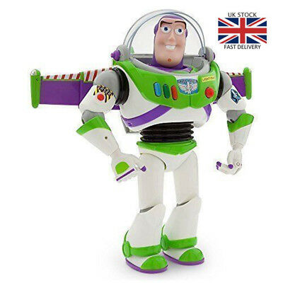 Buzz Lightyear Toy Story Action Figure Sound Flash Talking Kid Movable Toys