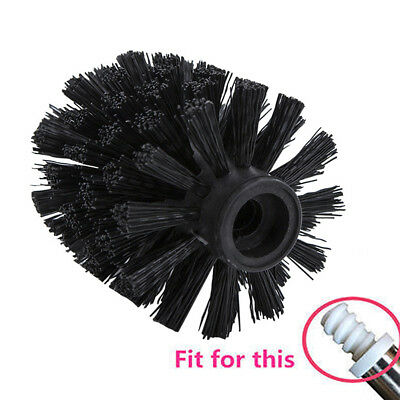 Universal Toilet Brush Head Holder Replacement Bathroom Cleaning Tool 2 Colors